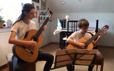 Gregi, Janina in kitari