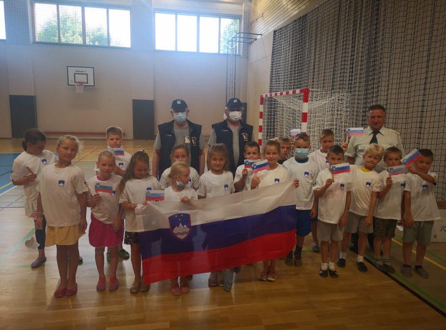 Obisk častnikov slovenske vojske v Kotljah